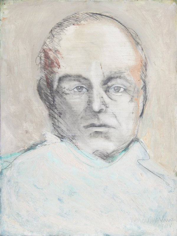 123: John MacWhinnie, Portrait of Truman Capote, Mixed