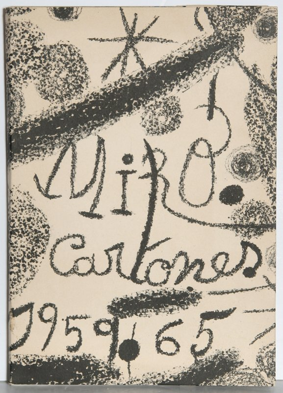 150: Joan Miro, Cartones, Book with 9 Lithographs