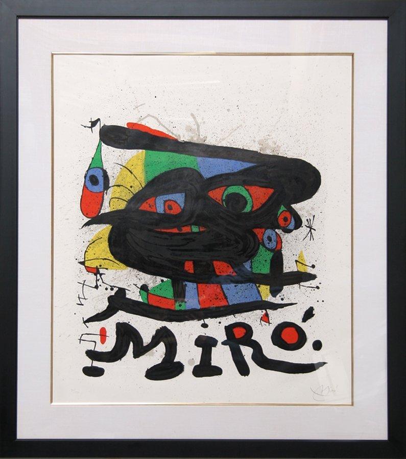 151: Joan Miro, Walker Art Center, Lithograph