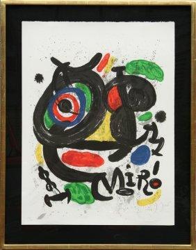 Joan Miro, Exhibition Sculptures, Lithograph