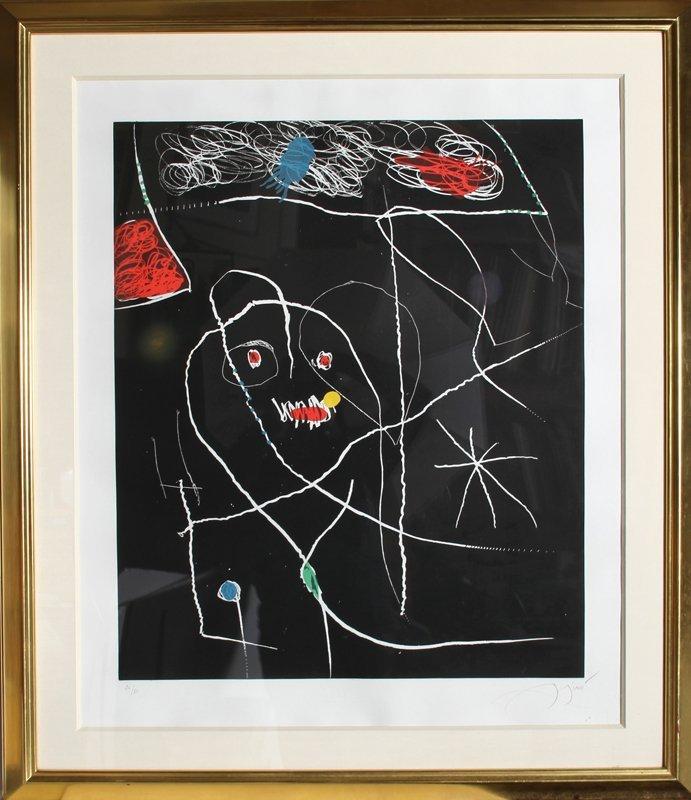 154: Joan Miro, El Pi de Formentor 5, Aquatint Etching