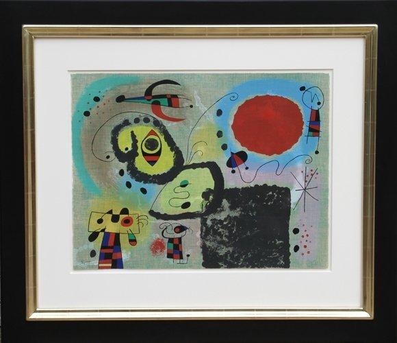 156: Joan Miro, Centennair pour Mourlot Lithograph 1953