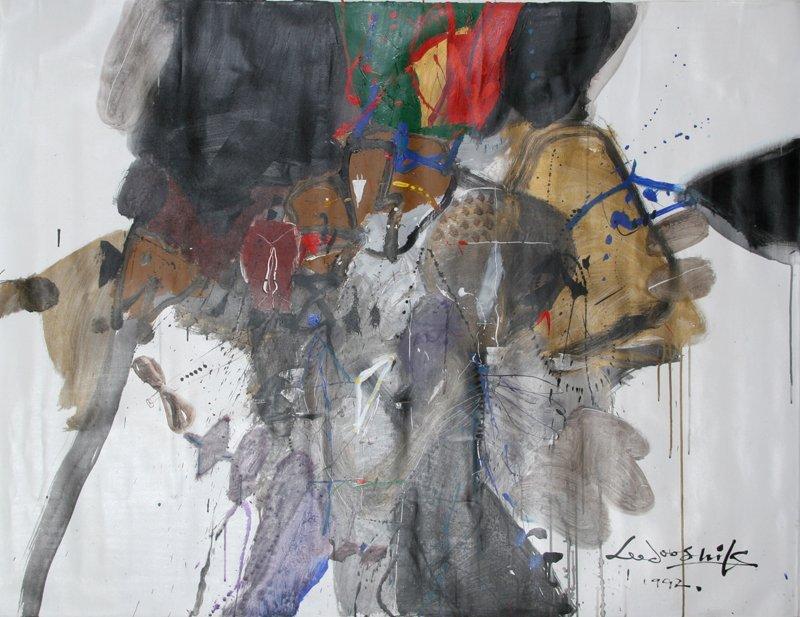 165: Doo Shik Lee, Oil Painting