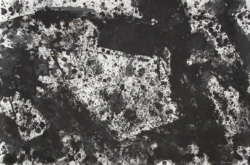 168: Sam Francis, Metal Cloud, Lithograph