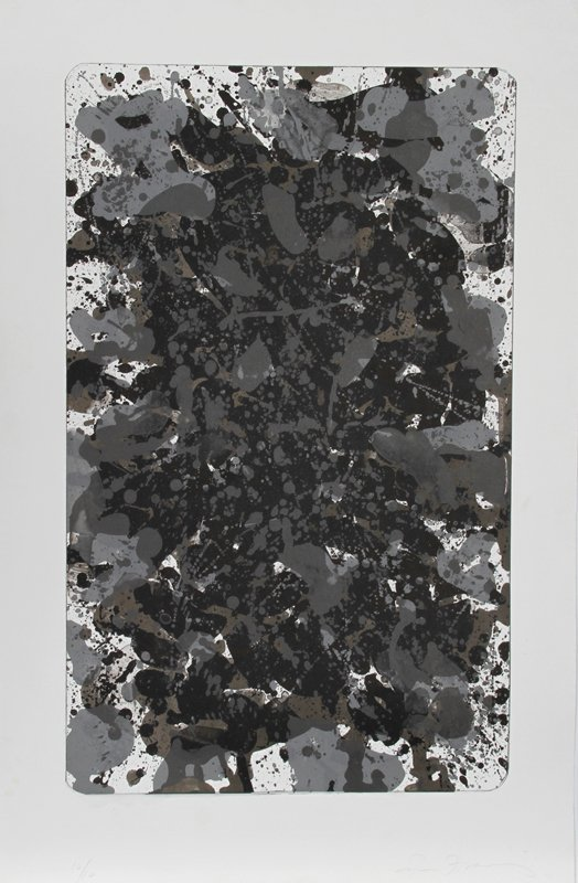169: Sam Francis, Metals Space, Lithograph with Embossi