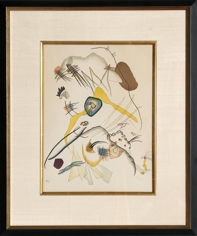 194: Wassily Kandinsky, Abstract Composition, Lithograp