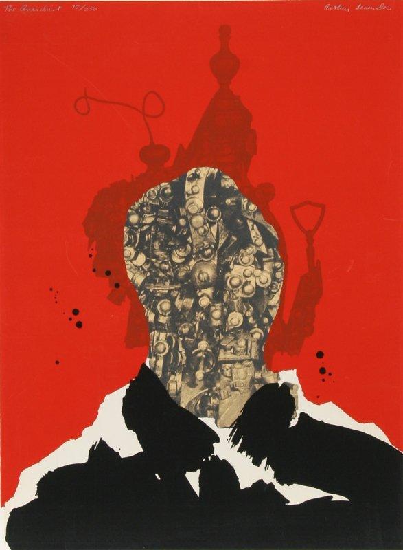 425: Arthur Secunda, The Anarchist, Silkscreen