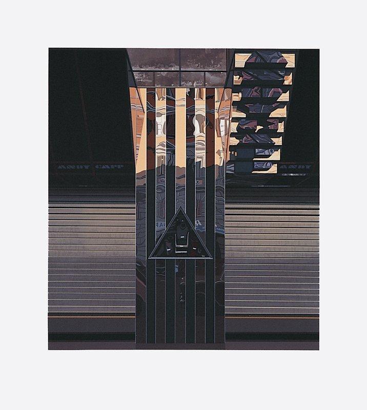 483: Richard Estes, Andy Capp, Screenprint