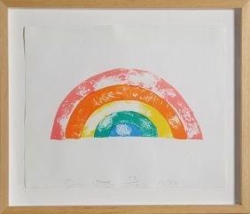 Jim Dine, Rainbow, Lithograph