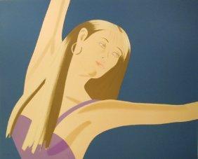 Alex Katz, Night: William Dunas Dance II, Lithogra