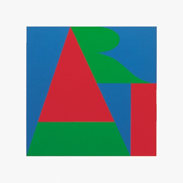 535: Robert Indiana, ART from On the Bowery, Screenprin