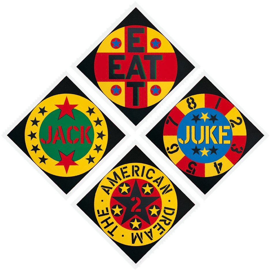 538: Robert Indiana, The American Dream #2 Suite, Four