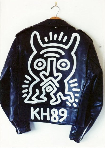540: Keith Haring, Schott Brothers Motorcycle Jacket, P