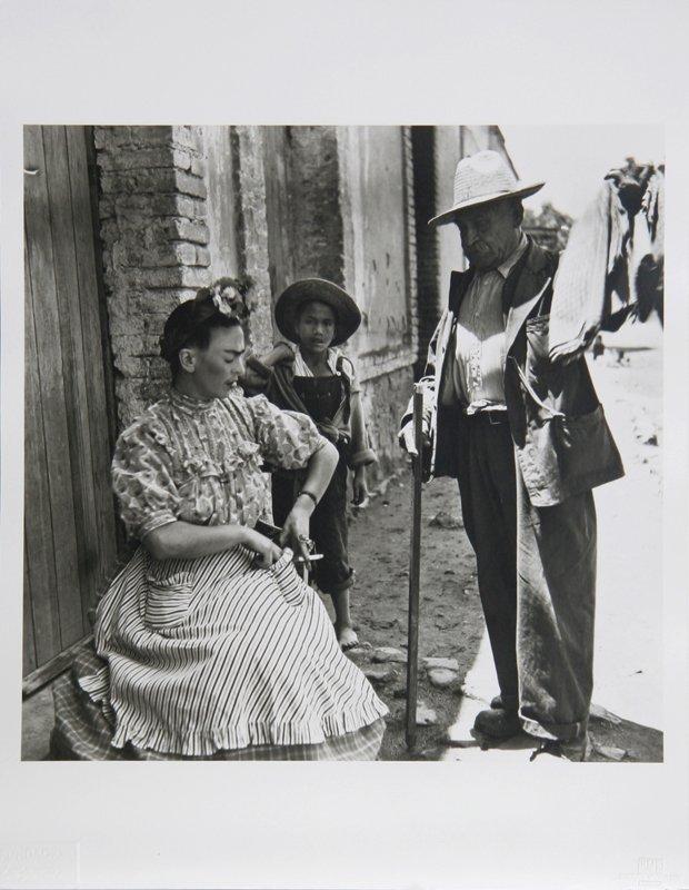 574: Leo Matiz, Frida Kahlo VIII, Photograph