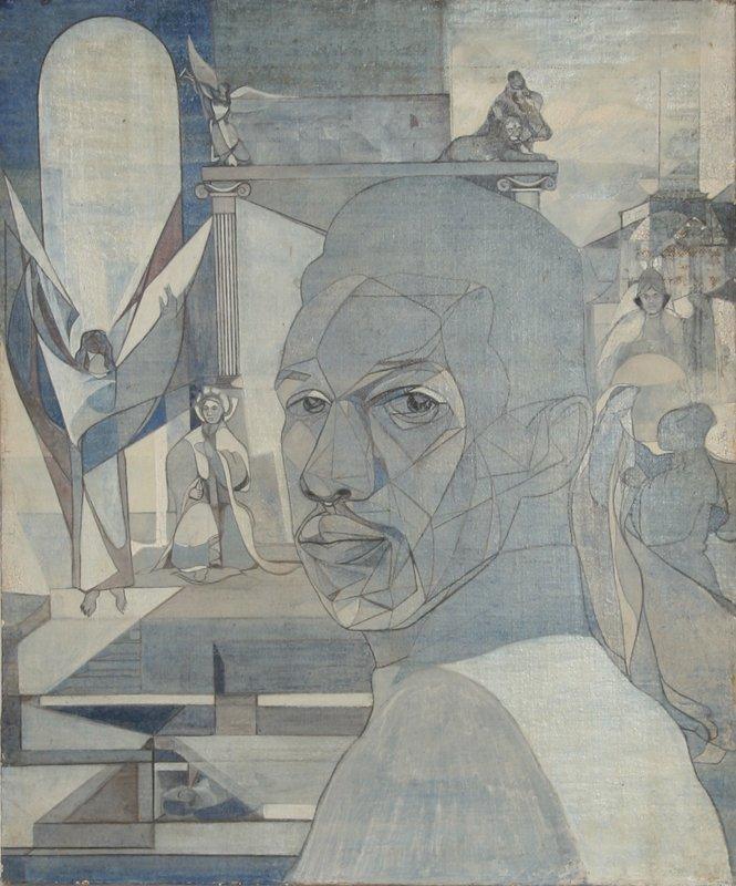 637: John F. Leonard, Oil Painting