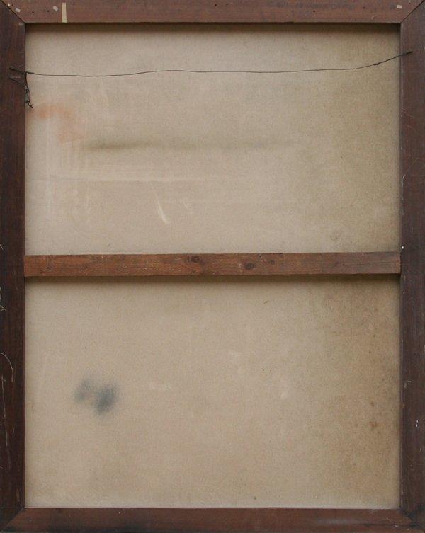715: Edith Varian Cockroft, Girl in a White Dress, Oil  - 3