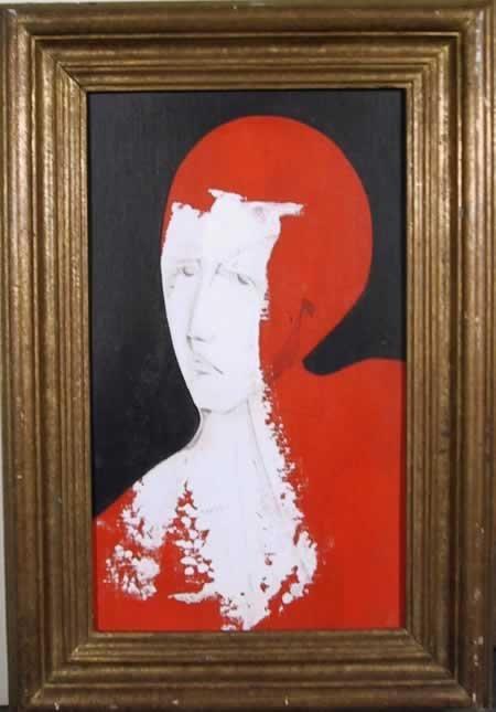 100: Alfio Rapisardi, Portrait, Oil Painting