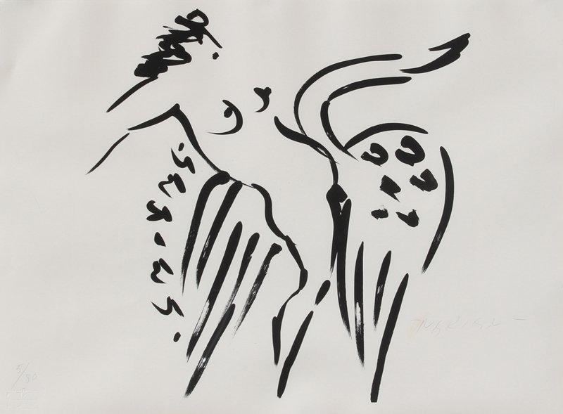 119: Reuben Nakian, Leda and the Swan 14, Lithograph