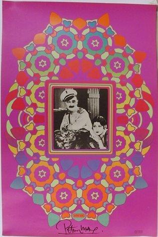 9: Peter Max, Ben Turpin Cameo, Signed Poster