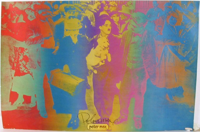 11: Peter Max, Our Gang, Poster
