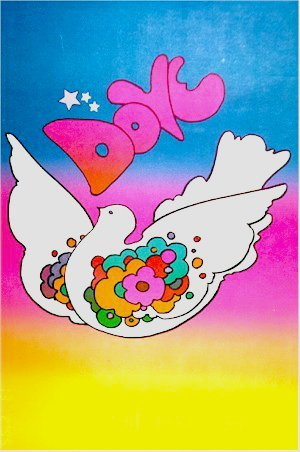 13: Peter Max, Dove, Poster