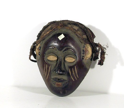 4: African Mask with Rope - I