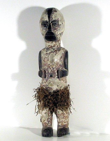 5: African Figure with Grass Skirt II