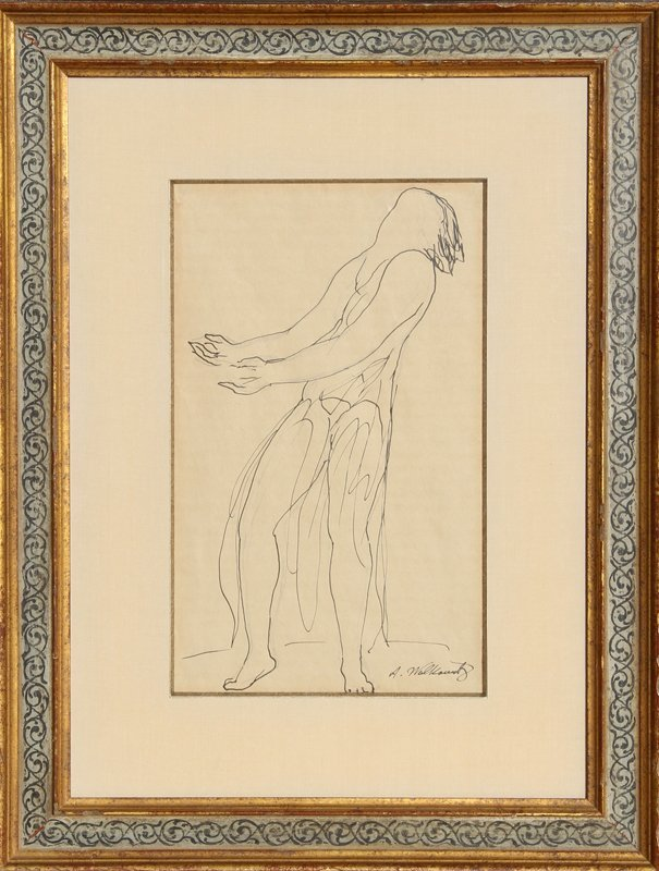 16: Abraham Walkowitz, Isadora Duncan, Drawing