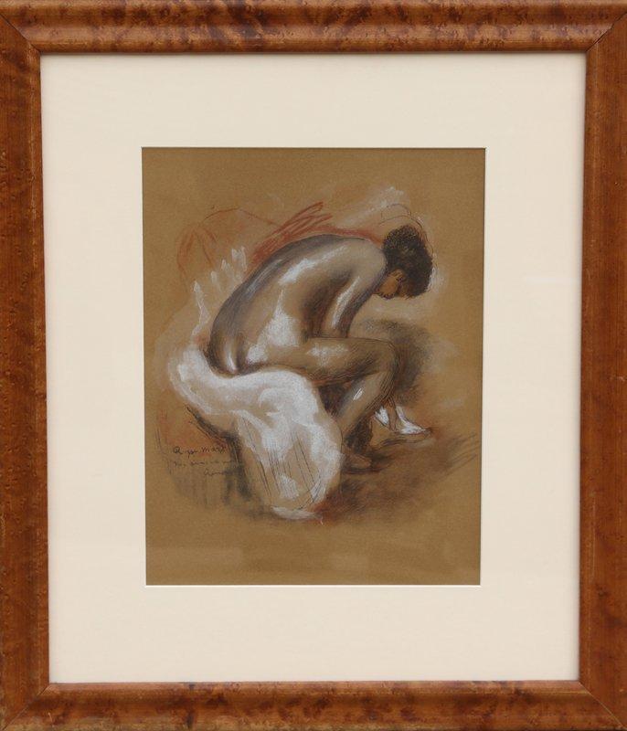20: Pierre-Auguste Renoir, Plate XIV Baigneuse S'Essuya