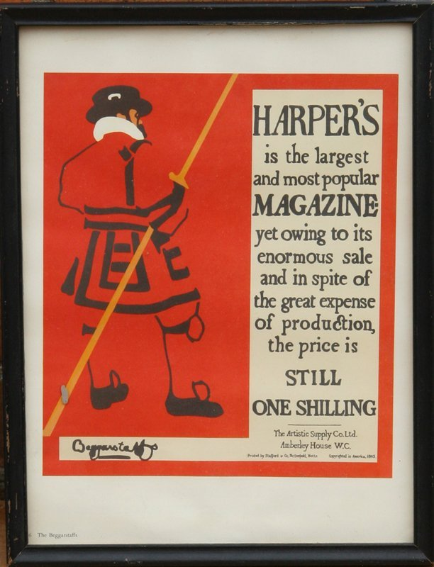1: The Beggarstaffs, Harper's Magazine Les Maitre de L'