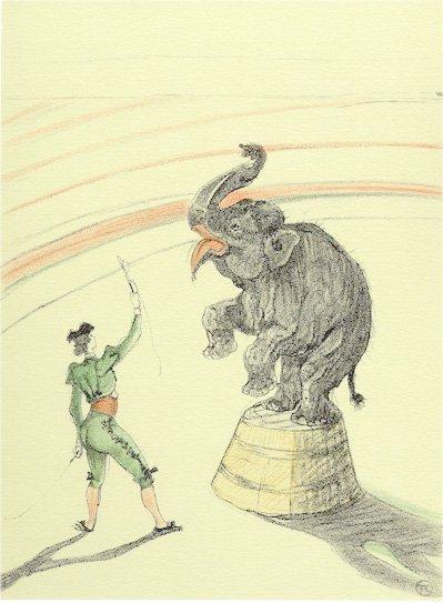 2: Henri de Toulouse-Lautrec, The Circus Portfolio, Lit