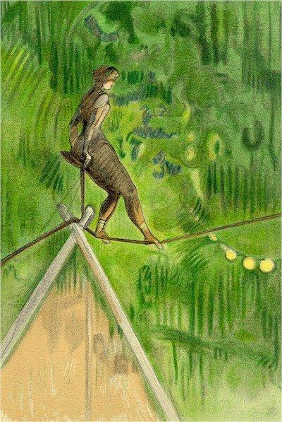 4: Henri de Toulouse-Lautrec, Circus Portfolio 10, Lith