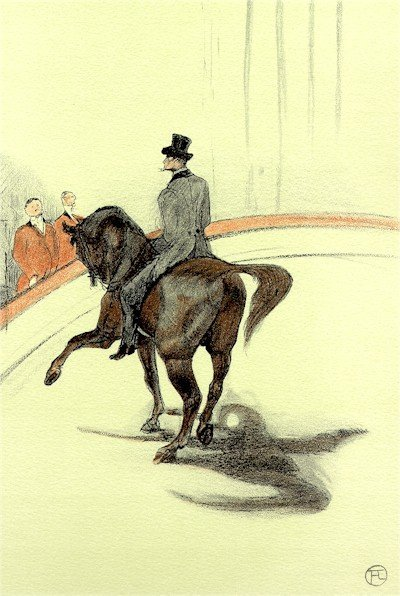5: Henri de Toulouse-Lautrec, The Circus Portfolio, 15,