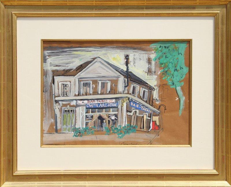 11: Ludwig Bemelmans, The House of Van Gogh, Gouache Pa