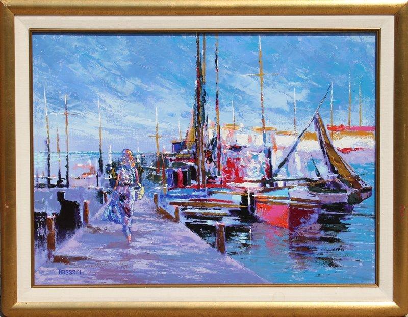 16: Bassari, Marina, Oil Painting