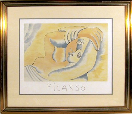 20: Pablo Picasso, Femme Couchee, Lithograph