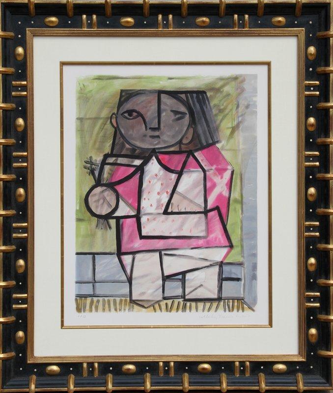 21: Pablo Picasso, Enfant en Pied, Lithograph
