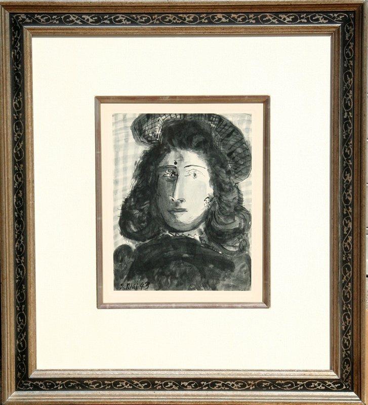 23: Pablo Picasso, Plate 4, Pochoir