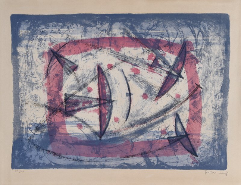 226: Rufino Tamayo, Poesia del Vuelo, Lithograph