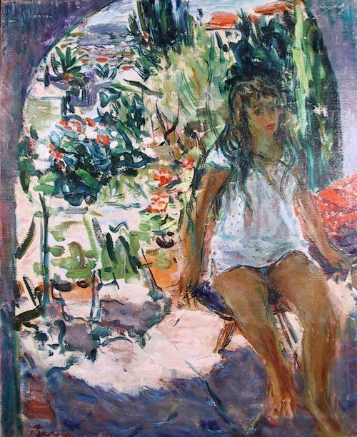 2: Dimitrie Berea, Young Girl on the French Riveira, Pa
