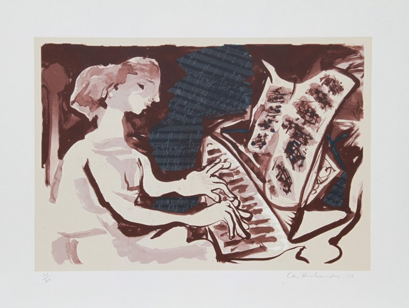 6: Ceri Geraldus Richards, The Beethoven Suite, Lithogr