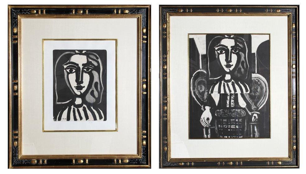 20: Pablo Picasso, Two Armchair Woman (Francoise Gilot)