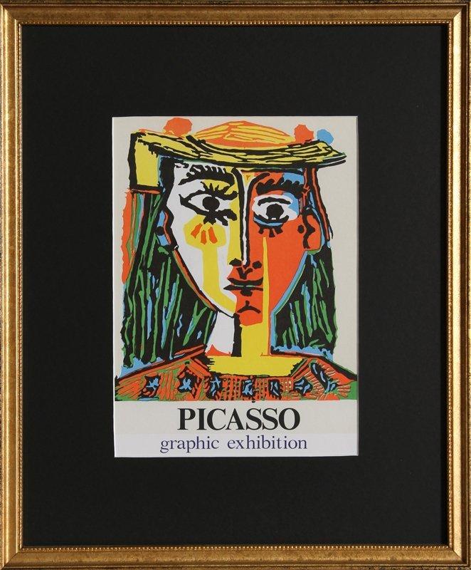 21: Pablo Picasso, Graphic Exhibition: Gallery Internat