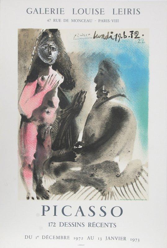 22: Pablo Picasso, 172 Dessins Recents: Galerie Louise