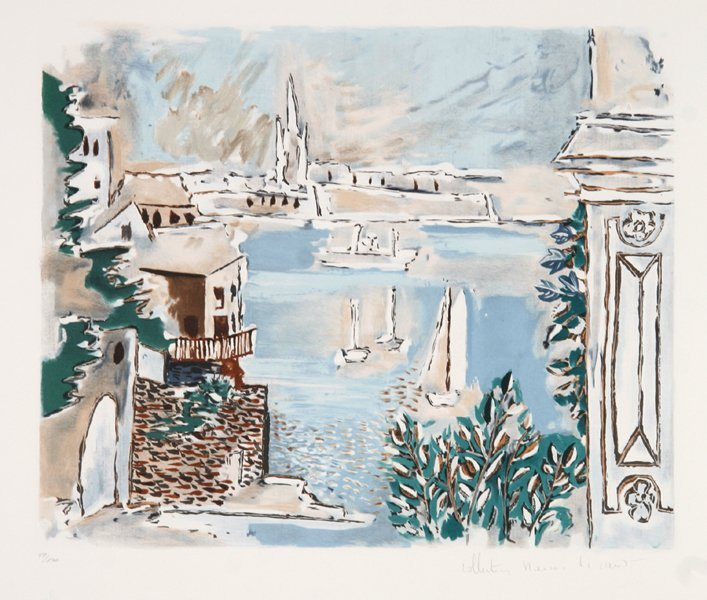24: Pablo Picasso, Passage De Dinard, Lithograph