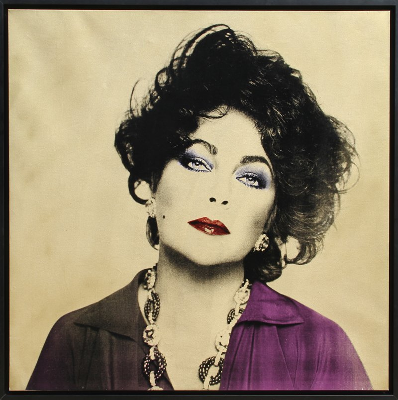 385: Francesco Scavullo, Elizabeth Taylor, Photo-Silksc