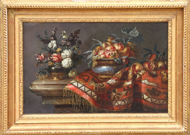 2: Italian Still Life, Oil Painting