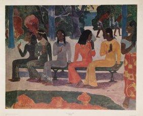 7: Paul Gauguin, Ta Matete, Poster