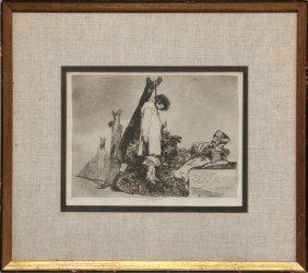 10: Francisco de Goya, Tampoco from from Los Desastres