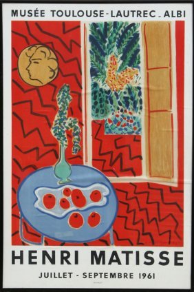 18: Henri Matisse, Musee Toulouse-Lautrec - Albi Exhibi